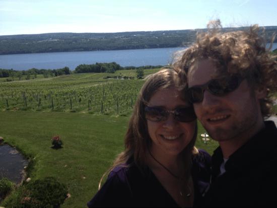 Vineyard and Lake