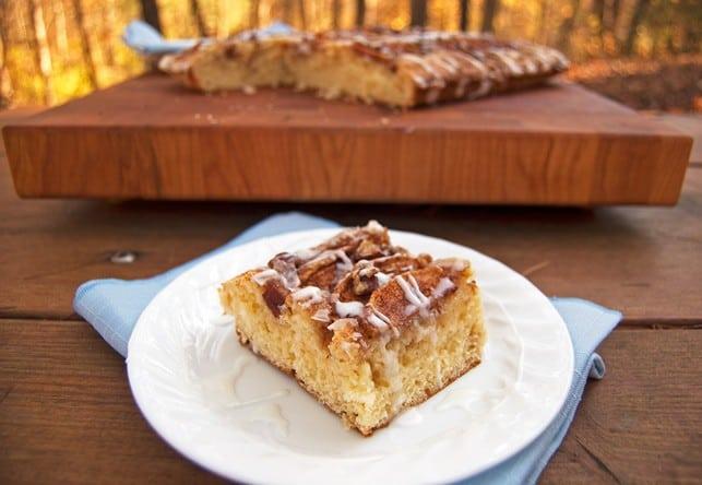 Mom's Apple Kuchen Apple Cake - 2Teaspoons