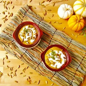 Butternut Squash Ginger Soup | 2Teaspoons