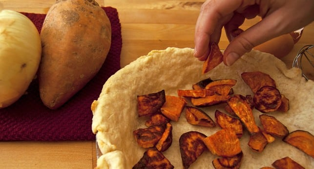 Roasted Sweet Potato, Caramelized Onion, And Gorgonzola ...