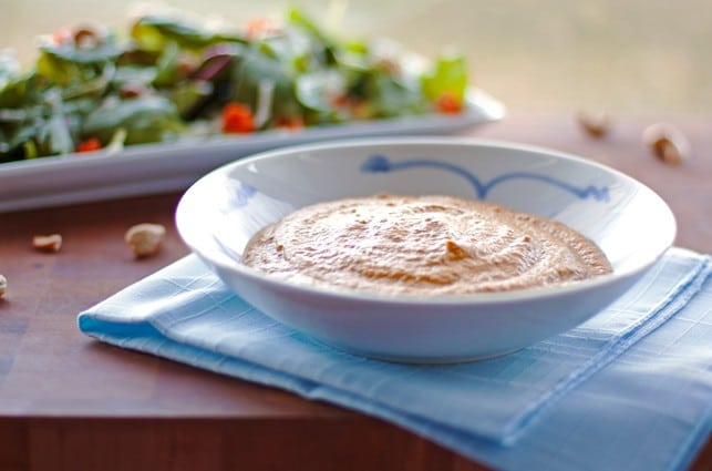 Roasted Carrot Cashew Soup - 2Teaspoons