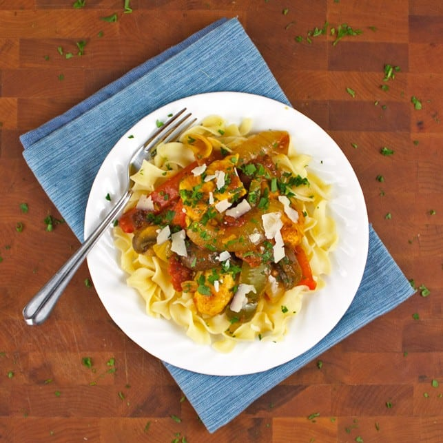 Chicken Cacciatore - 2Teaspoons