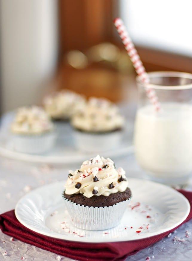 Peppermint Cupcakes - 2Teaspoons