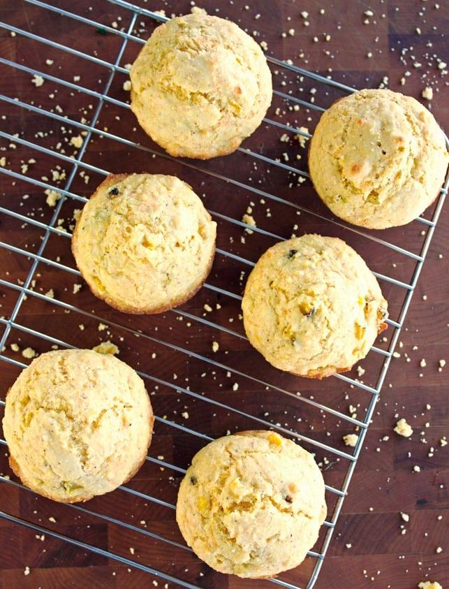 Cheesy Corn Muffins - 2Teaspoons