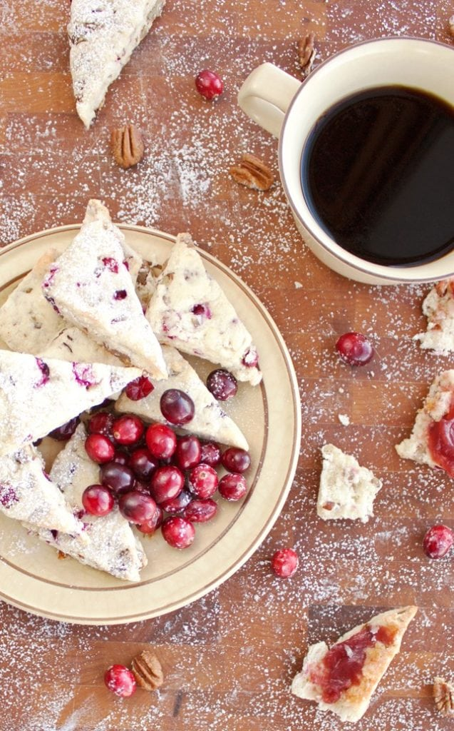 Cranberry Pecan Scones - 2Teaspoons