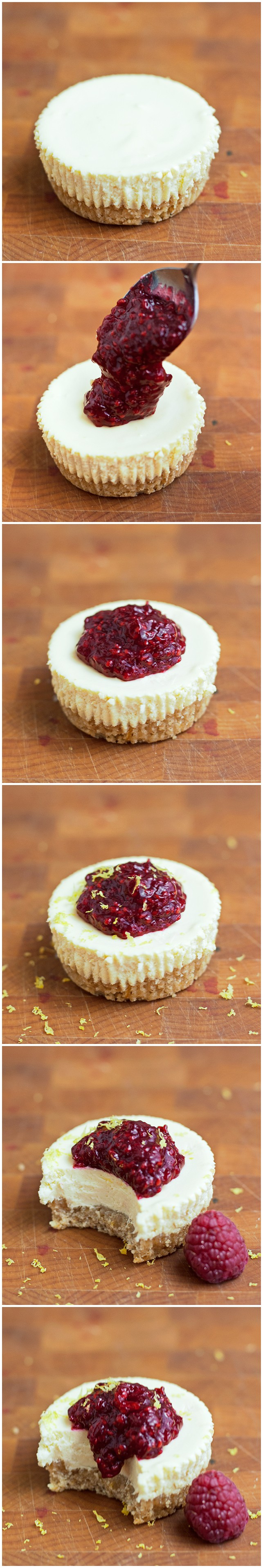 Lemon Raspberry Cheesecake - 2Teaspoons