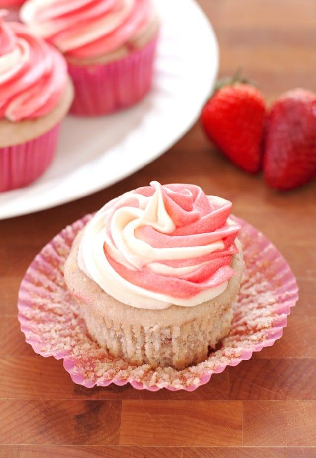 Strawberry Cupcakes Recipe With White Cake Mix