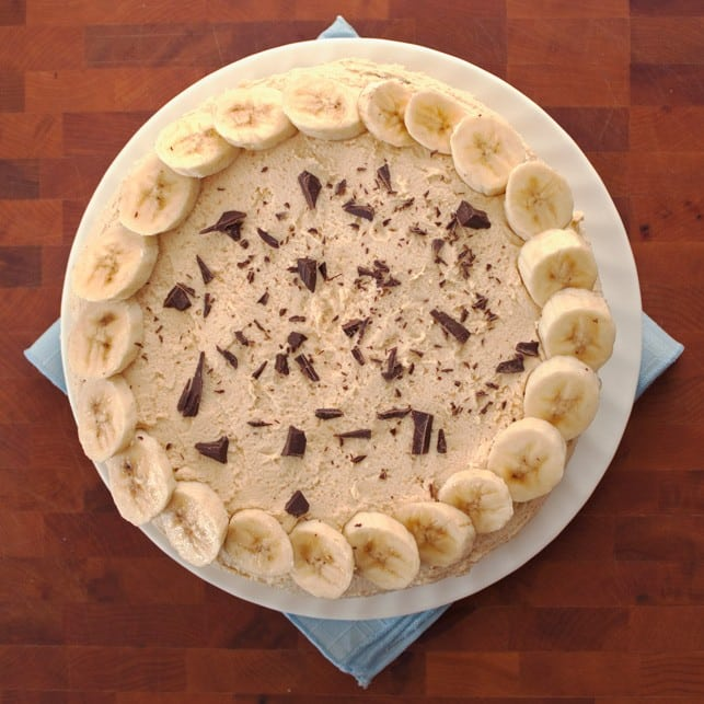 Chocolate Peanut Butter Banana Cake - 2Teaspoons
