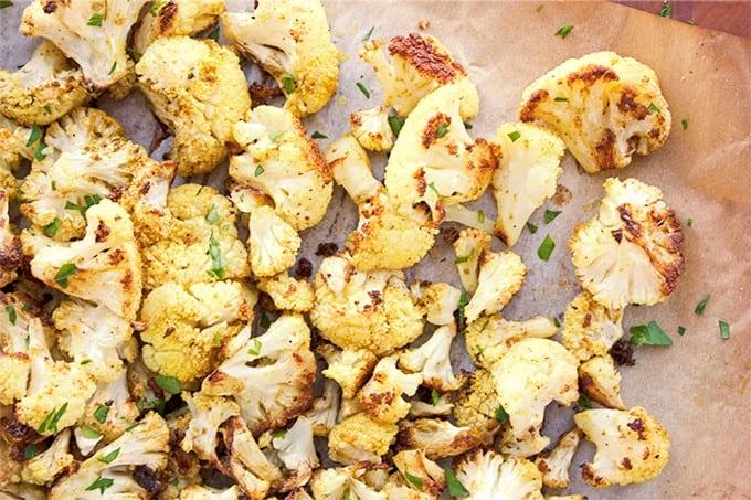 Roasted Curry Cauliflower - 2Teaspoons