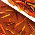 Honey Ginger Roasted Carrots - 2Teaspoons