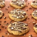 Triple Chocolate Hazelnut Cookies - 2Teaspoons