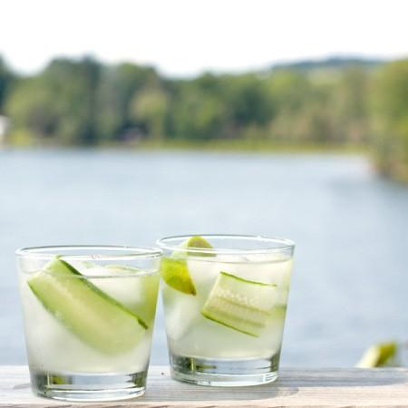 Cucumber Ginger Fizzes - 2Teaspoons