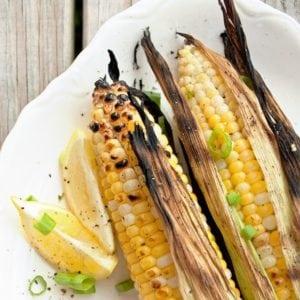 Grilled Sweet Corn on the Cob - 2Teaspoons