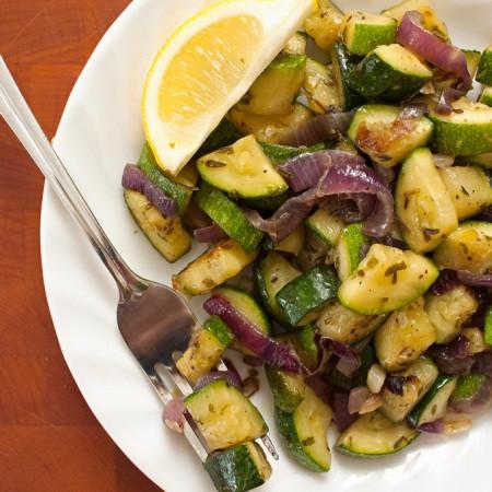 Sautéed Zucchini - 2Teaspoons