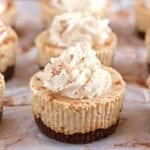 Pumpkin Spice Cheesecake with Gingersnap Crust and Homemade Whipped Cream - 2Teaspoons