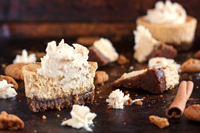 Spiced Pumpkin Cheesecake With A Gingersnap Crust Recipe ...