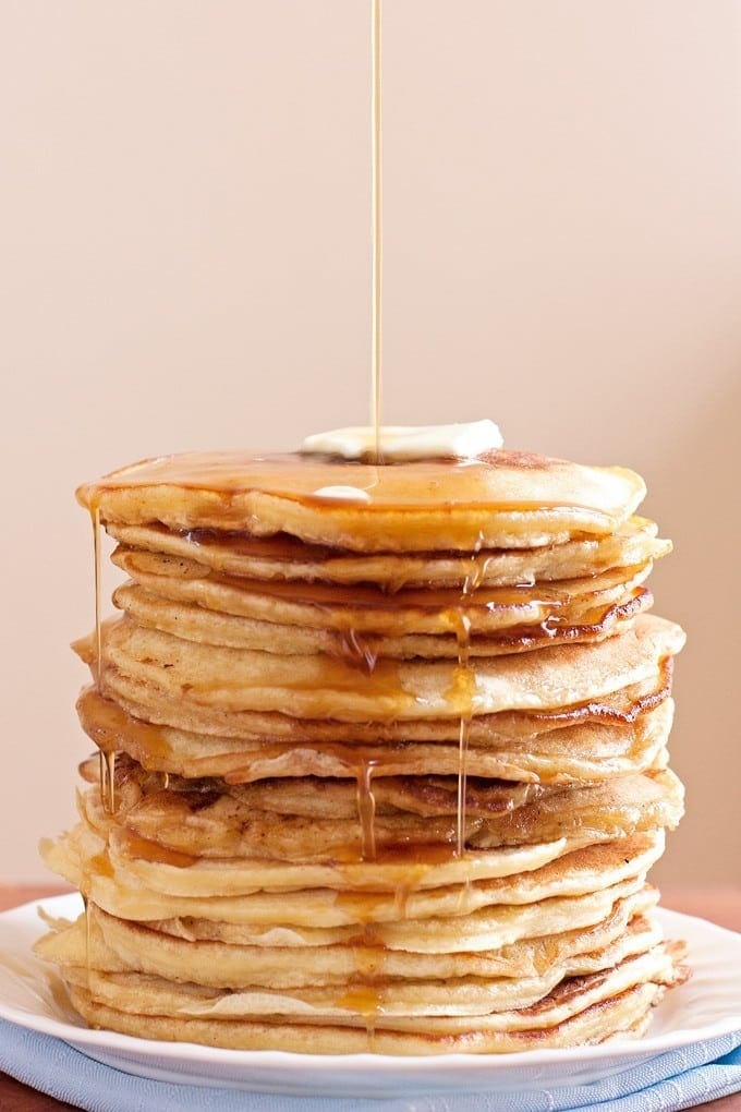 ... Pancakes (Peanut Butter Banana Pancakes with Bacon Maple Syrup