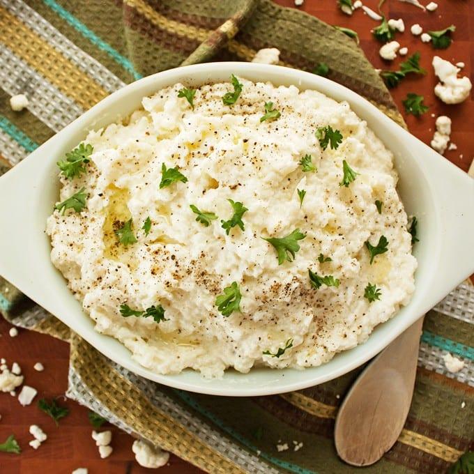 Cauliflower Mashed Potatoes - 2Teaspoons