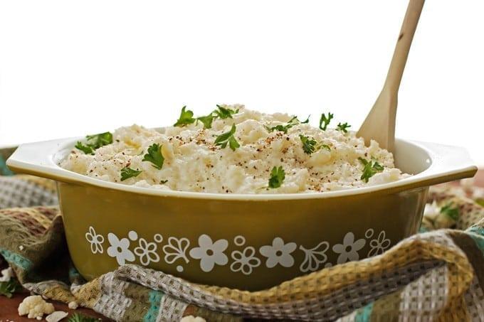 Cauliflower Mashed Potatoes 2teaspoons