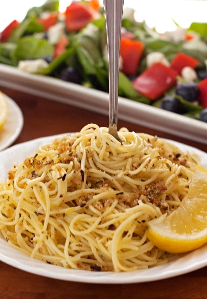 Lemon and Toasted Hazelnut Spaghetti - 2Teaspoons