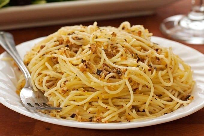 Lemon and Toasted Hazelnut Spaghetti - 2Teaspoons