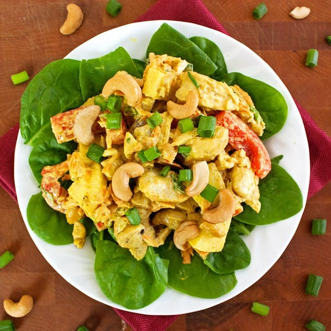 Curry Chicken Salad - 2Teaspoons