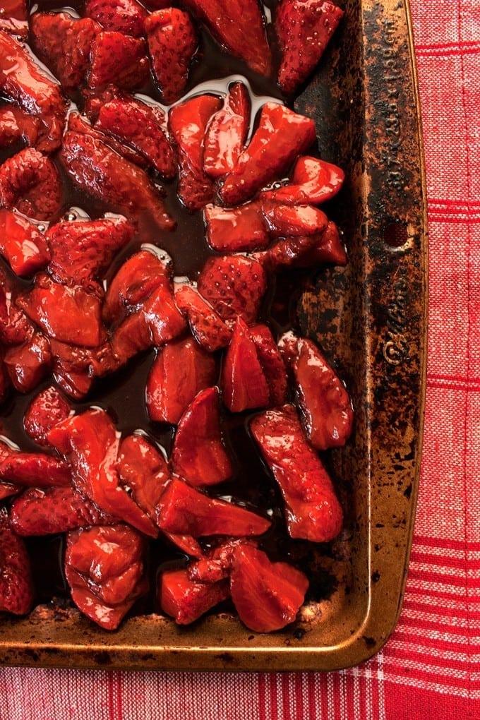 Honey Roasted Balsamic Strawberry Yogurt Parfait - 2Teaspoons