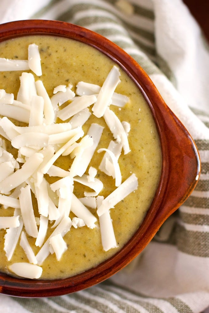 2Teaspoons - Broccoli Cheese Soup