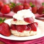 2Teaspoons - Farmer's Market Strawberry Shortcake with Fresh Whipped Cream