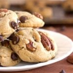 Salted Dark Chocolate Pecan Cookies - 2Teaspoons