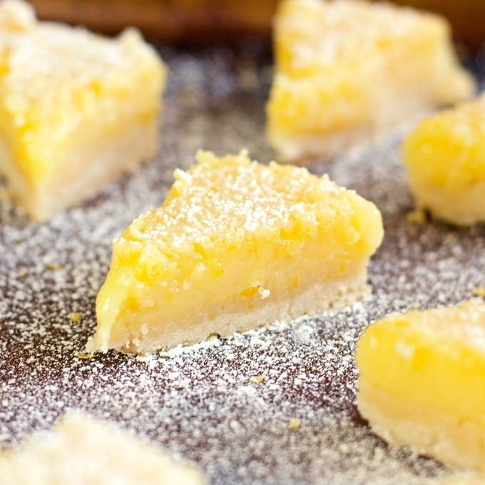Lemon Bars - 2Teaspoons