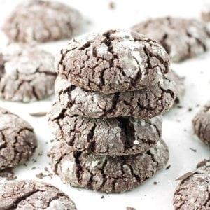 Chocolate Crinkle Cookies - 2Teaspoons