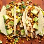 Roasted Corn and Cauliflower Tacos - 2Teaspoons