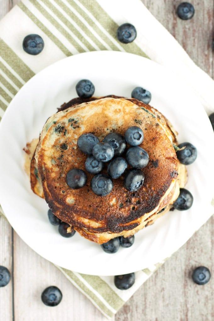 Blueberry Pancakes - 2Teaspoons