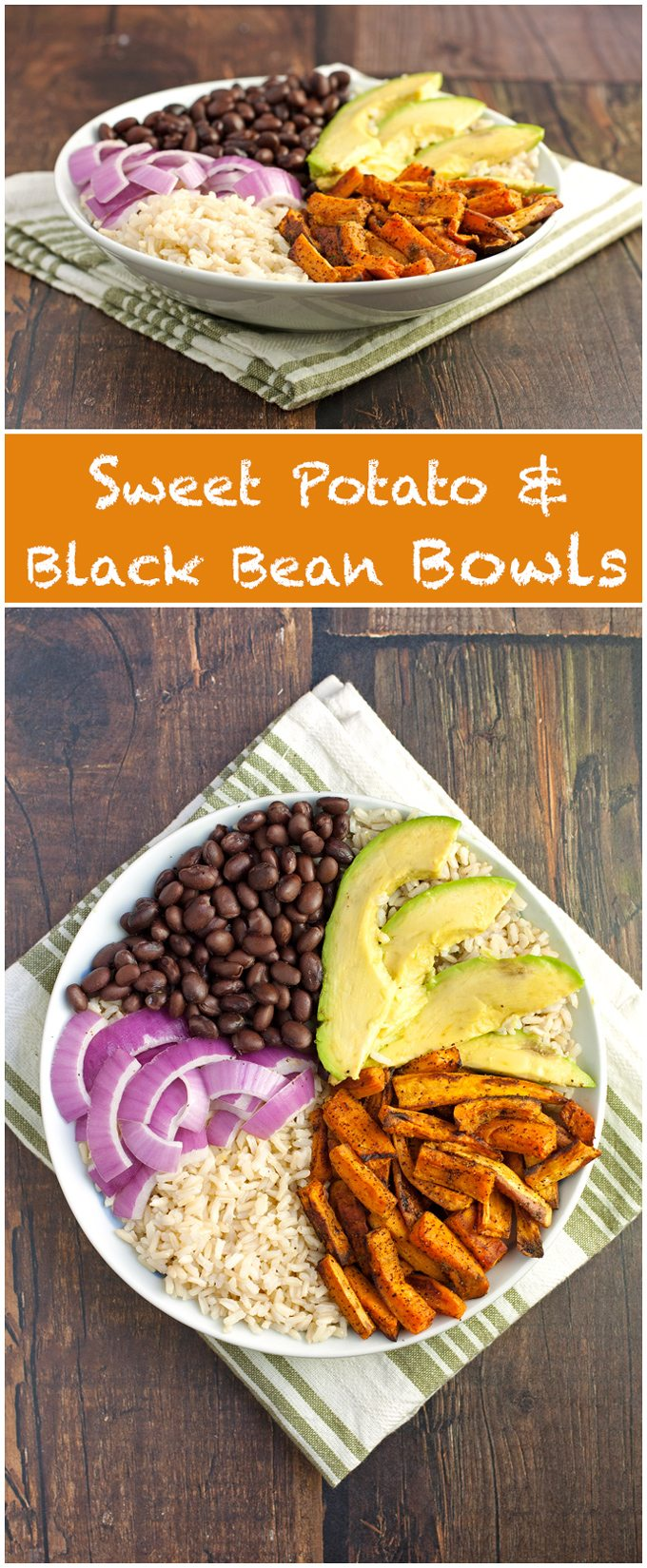 Sweet Potato and Black Bean Bowls - 2Teaspoons