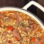 Beef Barley Soup - 2teaspoons
