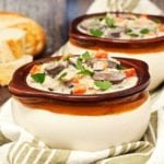 Creamy Chicken Rice Soup - 2teaspoons.com