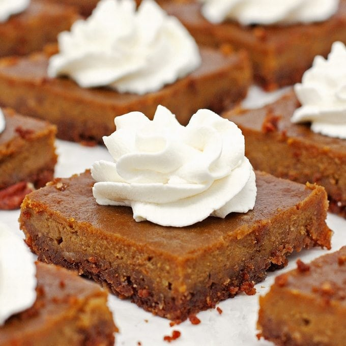 Pumpkin Pie Bars - 2teaspoons