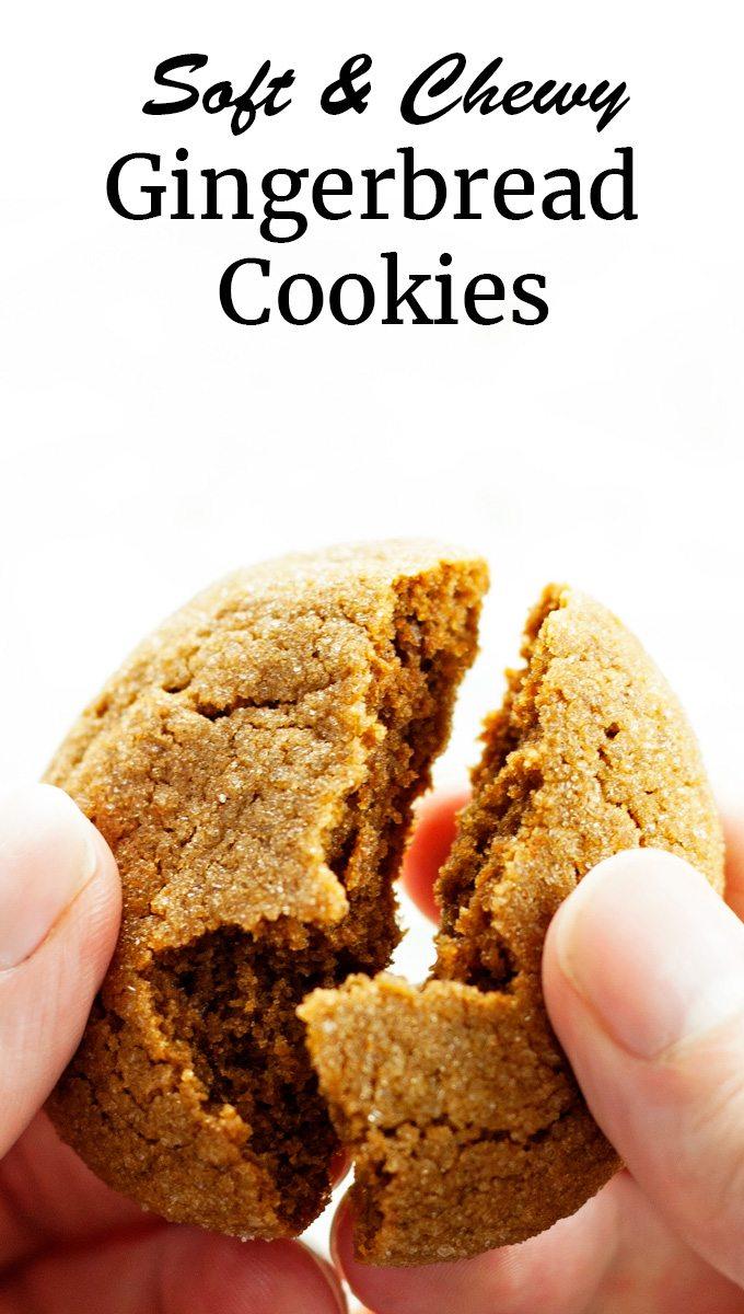 Soft Gingerbread Cookies - 2teaspoons.com