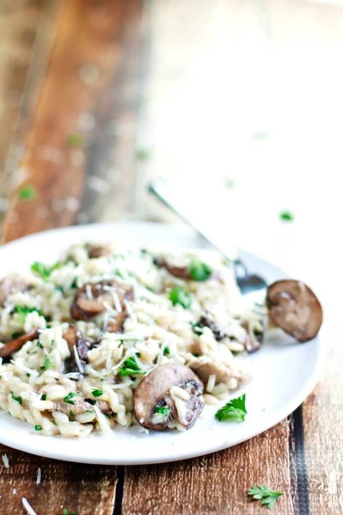 Chicken And Mushroom Risotto 2teaspoons